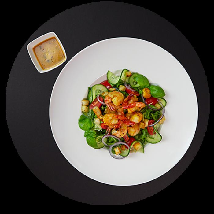 salatka krewetkowa