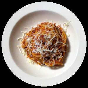 Spaghetti all' Amatriciana